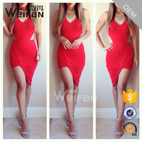 Latest Sexy Women Party Dress New Fashion Tall Tube Bodycon Midi Porm Ladies Dresses