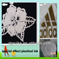 foaming and gilding platisol ink for T-shirt printing