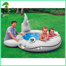 Hot Sale Factory Price Customized Inflatable Shark Shape Mini Swimming Pool for Kids