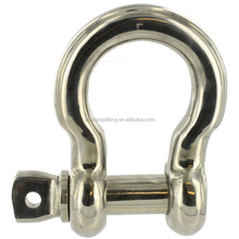 Factory Hot Sale Stainless Steel 304 316 bow shackle