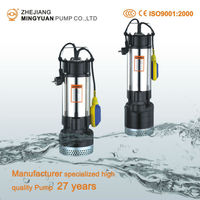 China Manufacturer Warranty 3Years Stainless Steel Multistage Submersible Water Pump
