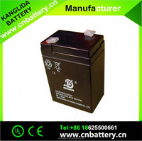 UPS battery 6v 4.2ah solar battery lead acid rechargeable battery manufucturer in China