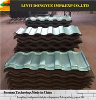 high quality color stone coated steel roofing tile plastic roof shingle stone coating for roofing tiles