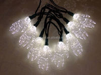 Low attenuation outdoor Christmas angel string lights for holiday decoration