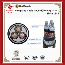 No.2013- Medium voltage XLPE insulated PVC sheathed cable 1 core 3 core Copper conductor 25kV 33kV 500mm 630mm xlpe power cable