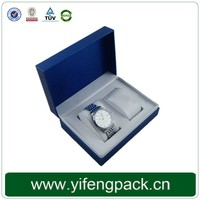 2015 China Customized Recycled Cheap paper wrist watch storage box