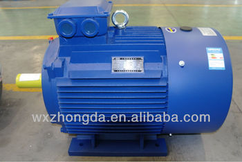 Y2 Series Totally Enclose Cast Iron 300hp Electric Motors