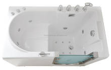 Sunrans security Accessible old open bath shower bath dual-use multi-functional non-slip acrylic bathtub