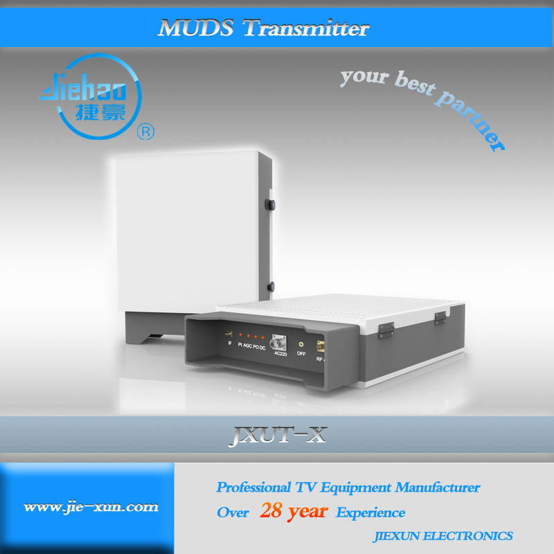 MMDS TV Transmitter for Broadcasting long-distance coverage area large power
