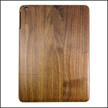 Black walnut wooden phone case without carving mobile phone shell real natural wood covers for ipad5