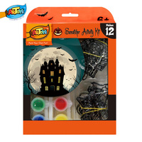 Happy Halloween Kids DIY Acrylic Paint Suncatcher Painting Kit