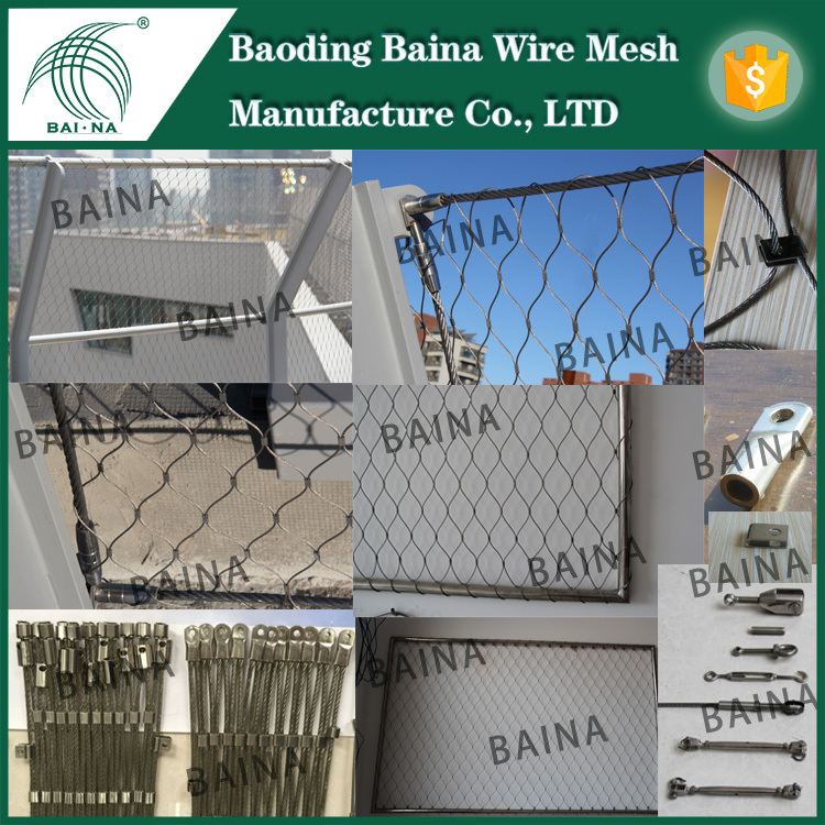 Factory Stainless Steel Fishing Nets