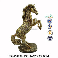 resin animal statues, bronze horse
