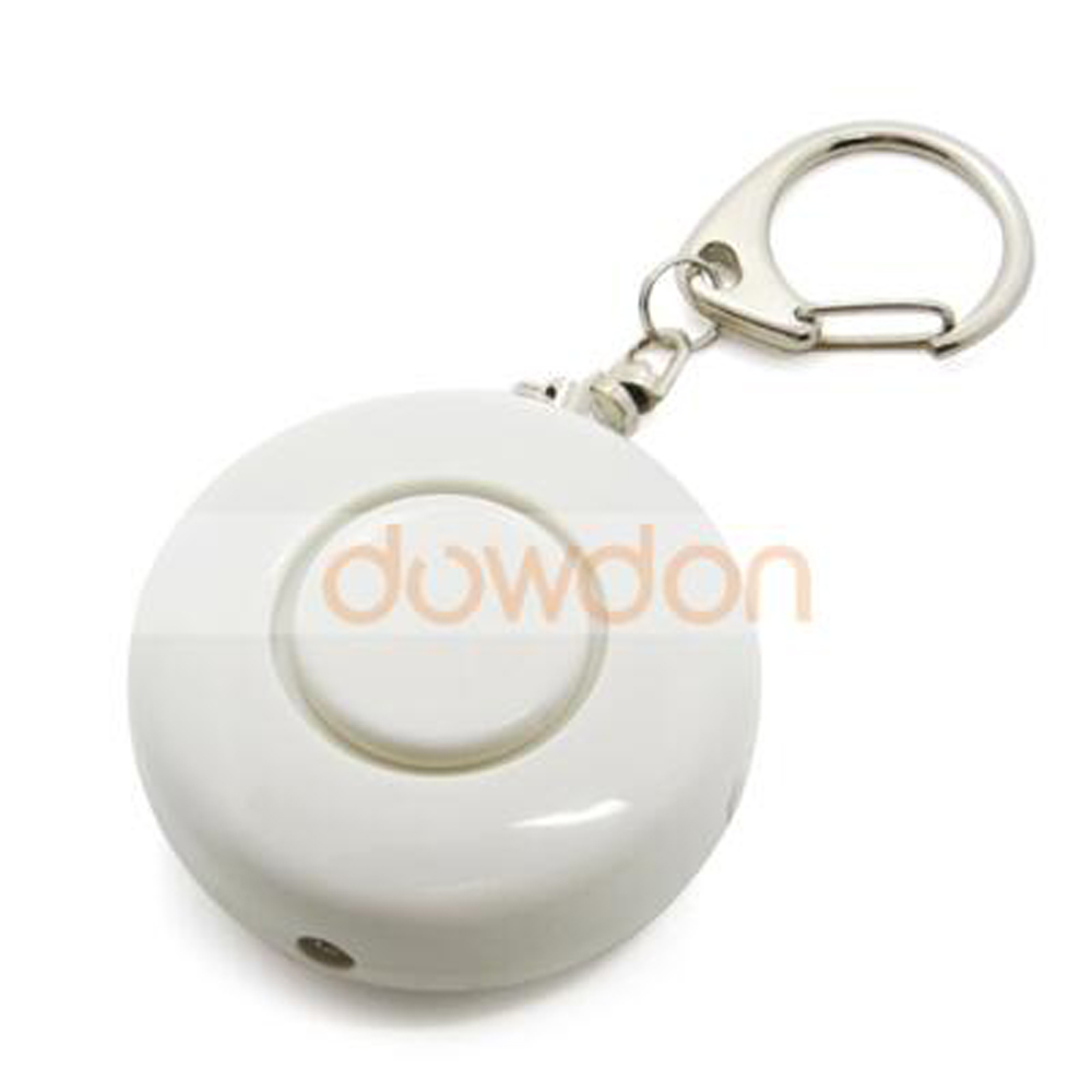 Best Selling Promotion Gift 130DB Personal <strong>Alarm</strong> With Keychain LED Light