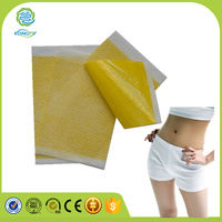 Natural herbal disposable firming body magnetic slimming patches for weight loss