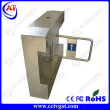 Access control CE approved supermarket entrance security mechanical electronic turnstile swing gate barrier for smart card door