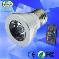 3w rgb led outdoor cob wide narrow beam angle 110V spotlight AC85~265V