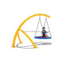 new Outdoor Playground Galvanized rope Swing Sets for Kids