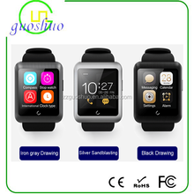 2015 newest intelligent bluetooth sim card calling with Charging vest Separation design mobile phone U11 Smart Watch