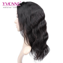 Top quality body wave cheap lace front wig with baby hair