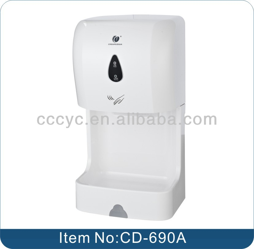 Wall Mounted Automatic Sensor Hand Dryer for home CD-690A