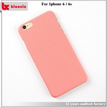 Free sample and oromotional matte for iphone 6 case with power bank