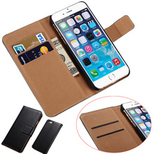 smartphone wallet leather wallet case for iphone 6