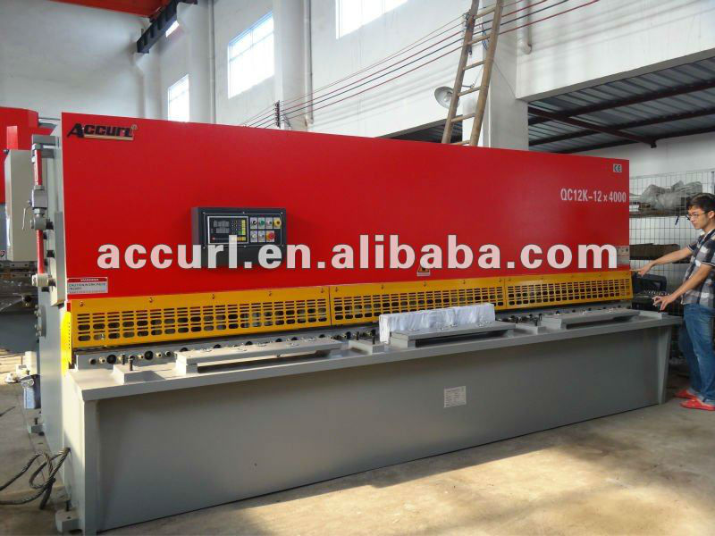 QC12Y-30X2500 Hydraulic CNC ms sheet cutting machine