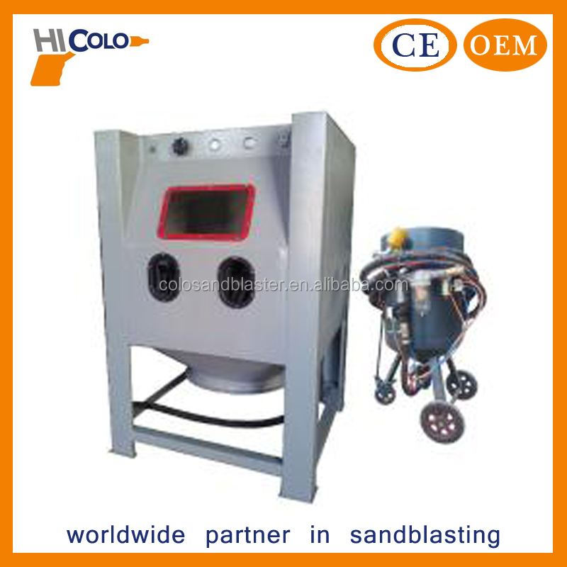COLO Dry Wood Deburring Sand Blast Machine