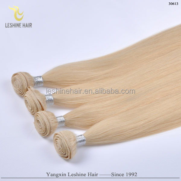 First Selling Golden Supplier Directly Factory Price Top Quality No Shedding No Tangle Double Drawn la weave hair