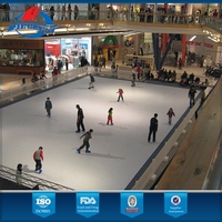 Environment Protecting Ourdoor Ice Rink Artificial