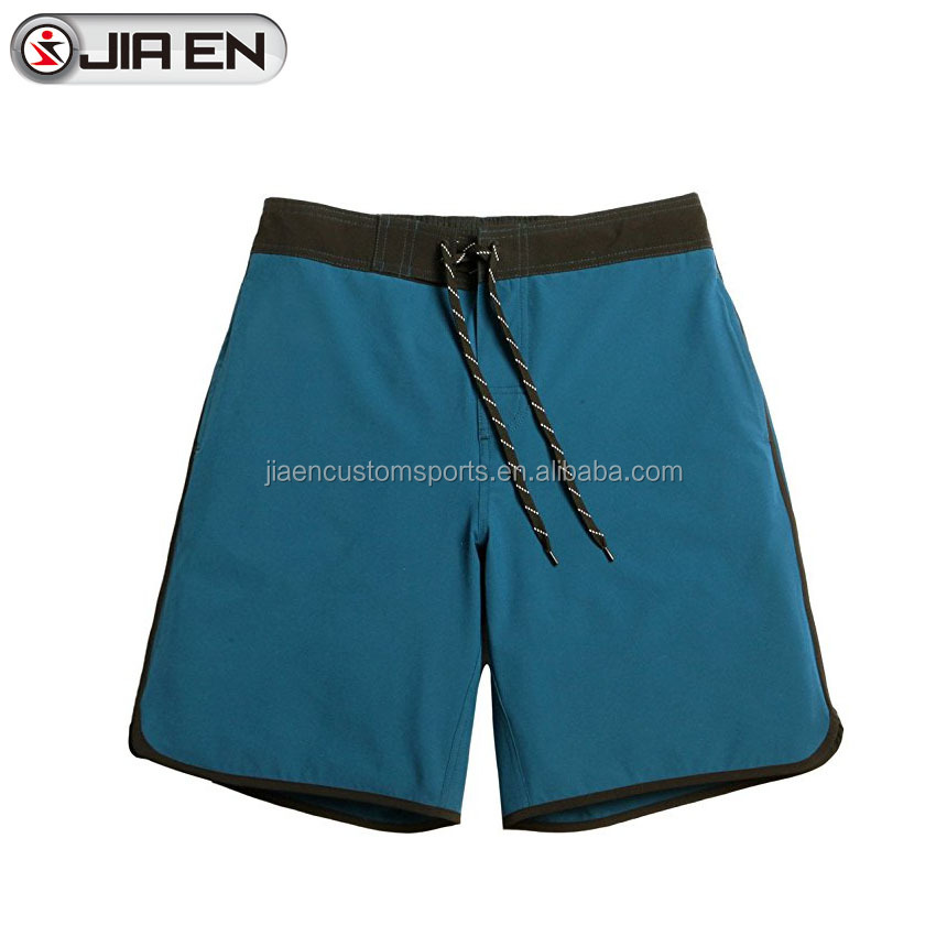 New style mens board shorts custom competitive swimwear 100% polyester fabric sublimated 4 way stretch board shorts