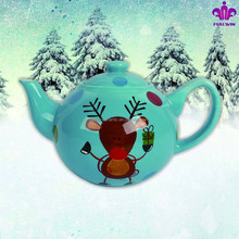 christmas deer tea kettle