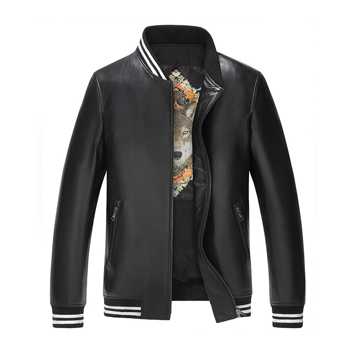 factory price spring pu leather jacket pakistan for men