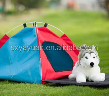 Portable Waterproof Pet tent/Pet House with travel carry case