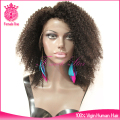 hot items online afro kinky human hair lace front wigs, brazilian hair wigs for black women