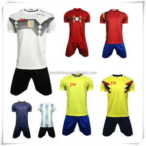 Customized cheap all teams chinese factory jersey soccer uniforms and soccer jersey full sets for men