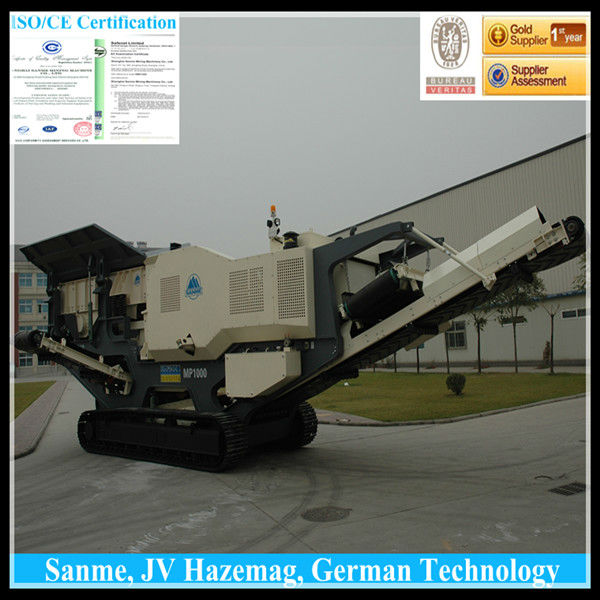 Sanme Crawler type Mobile Crusher/Mobile Impact Crusher/Mobile Cone Crusher