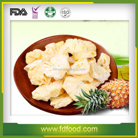 Fd Dried Fruits Frozen Dried Pineapple With Good Quality