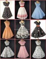 New Fashion Vintage Retro Girls Dresses