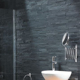 New Black Slate stacked stone panels decorative stone for walls