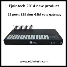 2014 voip call terminal GSM voip gateway 16 ports 128 sims goip gateway voip pc to phone dialer