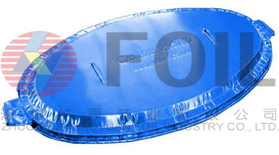 restaurant and airline food packing Aluminum foil lid and container