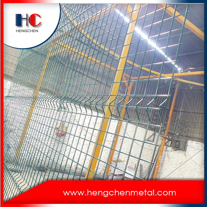 Outdoor Heavy Gauge Pvc Coated Welded Wire Mesh Fence