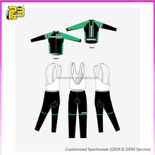 Sublimated Custom Cycling Clothing Bicycle Gear Set for Men
