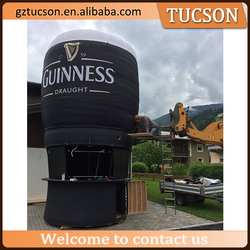 customized giant inflatable bottle with logo beer bottle for advertising