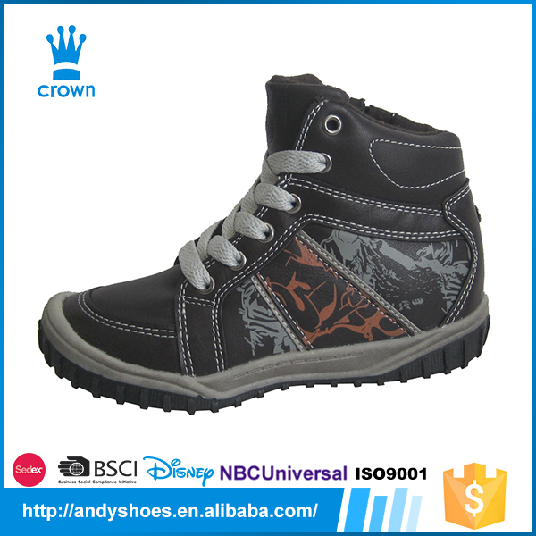 New fashion non-slip casual warm outdoor hiking children sports shoes city