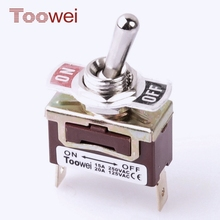 2017 NEW safety electrical power illuminated toggle switch