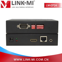 Alibaba China 120m POE HDMI over IP TCP Transmitter and Receiver with H.264 Encoder