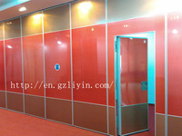 100 mm thick room separation soundproof movable partition